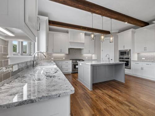 Custom Built Traditional Home | Open Concept Kitchen and Living Space